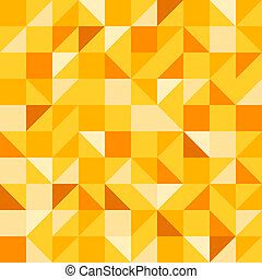 Yellow Seamless Pattern