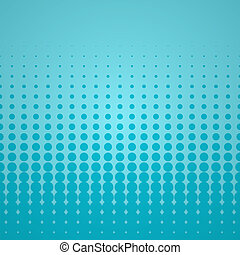 Blue Halftone Backdrop - Scalable abstract background...