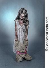 zombie, menina