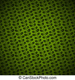 Diagonal Floral green background