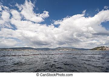 Ria de Pontevedra - Views of Ria de Pontevedra, Galicia,...