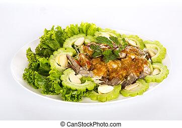 Raw shrimp  in fish sauce