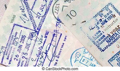 Passport International Travel Stamp - Passport stamps for a...