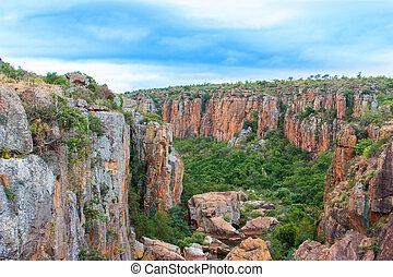 Blyde River Canyon,South Africa, Mpumalanga, Summer...
