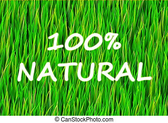 100 Natural and Pure Now Abstract Background