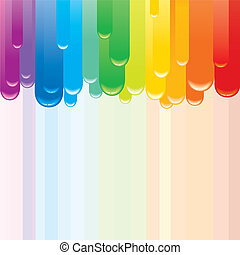 Spectrum Abstract Background. Vector Image