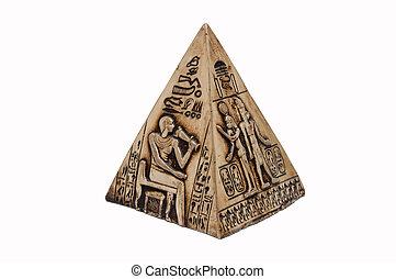 egipcio, pirámide
