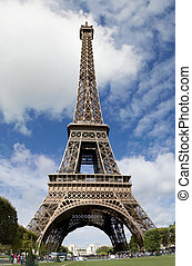 Eifel tower - eifel tower in the French city of paris