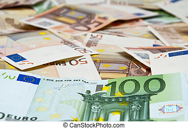 Euro notes -    Background of EUR 50 notes