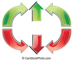 arrow symbol icon