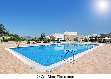 Lovely pool and hotel for a holiday with the family Portugal...