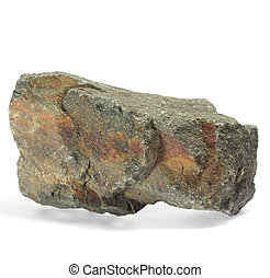 stone single granite boulder large river isolated big rock...