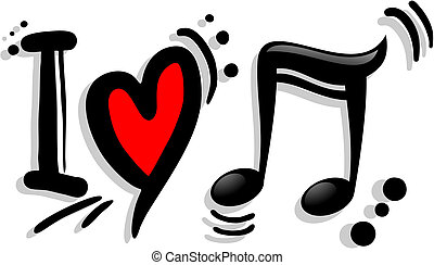 Love music - Creative design of love music