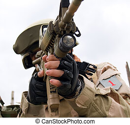 US Soldier - The US Soldier in Action