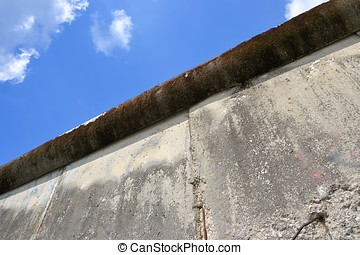 the Berlin Wall - the remains of the Berlin Wall