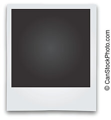 Polaroid Picture Frame Vector