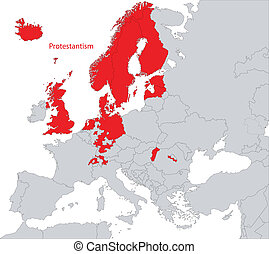 Protestantism in Europe - Distribution of Protestantism...