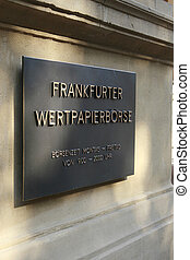 frankfurt, exchange, stock, banking, banks, building,...