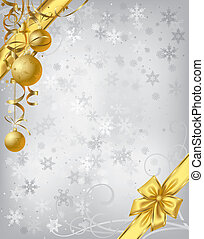 Christmas background - Isolated raster version of vector...