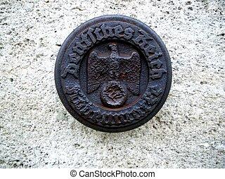 Alemán, Reich, sello