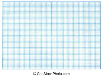 millimeter blue graph paper real photo