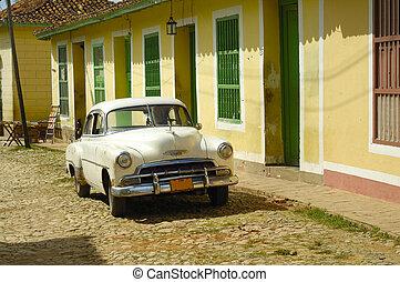 Vintage tropical town - Trinidad