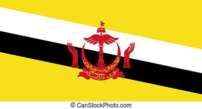 Brune - The Standard flag of Brune