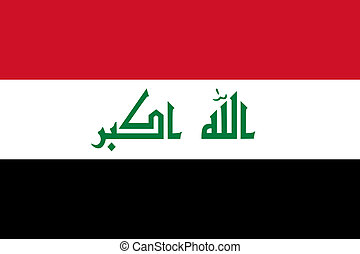 Iraq - The Standard flag of Iraq