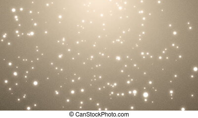 Glittering Particles - Bright, elegant particles. Motion...