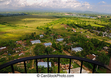 cuban countryside landscape - A view of cuban countryside...