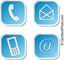 contact us sticker