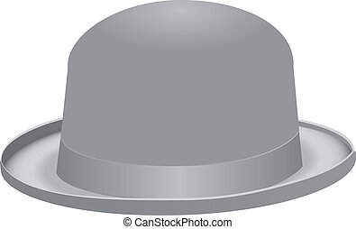 Bowler hat - The bowler hat, also known as a bob hat Vector...