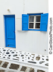 Traditional house at Mykonos island - Traditional houses at...