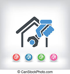 Home professional services icon