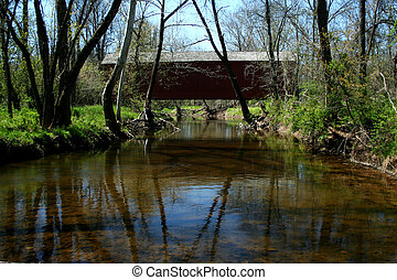 Van Sandt covered bridge in PA