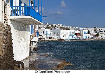 Mykonos island in Greece - The small Venice of Mykonos...