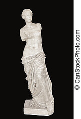 Aphrodite of Milos ancient statue - Aphrodite or Venus of...