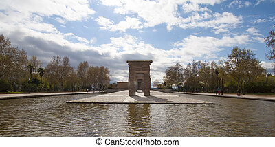 Temple of Debod,Madrid - Debod Temple was a gift from Egypt...