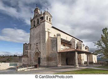 Church of San Juan Bautista in Salvatierra in Alava, Spain -...
