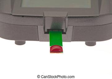 diabetic blood meter test for hba1c