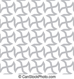 Vector seamless geometric pattern - abstract gray ornament