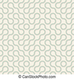 Vector seamless pattern - wavy lines - Vector seamless...
