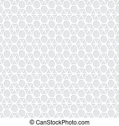 Abstract vector seamless monochrome pattern