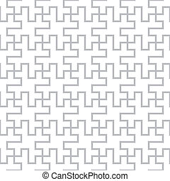 Vector geometric seamless abstract floor design pattern -...