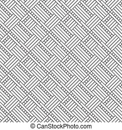 Vector gray seamless abstract flooring pattern - Vector gray...
