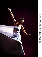 dance with fabric