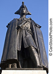 General James Wolfe Statue in Greenwich Park - General James...