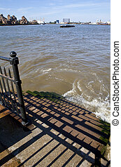 River Thames Steps - Steps leading down to the River Thames...