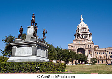 Texas state capitol - Texas state senate building in Austin