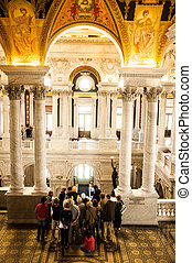 Library of Congress, Washington, DC - Located in front of US...